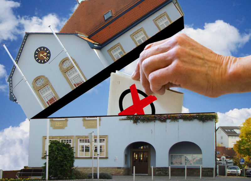 Wiesloch Rathaus-Wahl