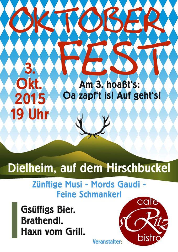 Oktoberfest Hirschbuckel