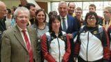 Empfang der Athleten der Special Olympics 2019 – TSG Wiesel dabei