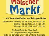 Vorankündigung: Mälscher Markt 29.06.- 01.07.2019