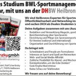 Duales Studium BWL-Sportmanagement