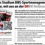 Duales Studium BWL-Sportmanagement