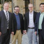 Bundestagsabgeordnete der FDP besuchten Bürgermeister im Östringer Rathaus…