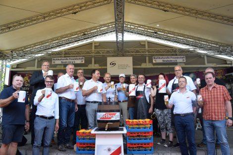 Sinsheim feiert  das 39. Sinsheimer Stadtfest