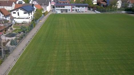 Einweihung der Sportanlage Eschelbach