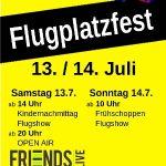 Flugplatzfest in Malsch am 13. und 14. Juli …