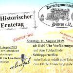 25. Historischer Jubiläumserntetag der Dreschgemeinschaft Dühren