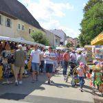 """Sauerkrautmarkt 2019 in Helmstadt bei """"Kaiserwetter"""" …"""