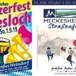 Wein & Markt in Wiesloch – Straßenfest in Meckesheim