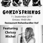 Gonzo's Friends spielen in Baiertal – Konzerthighlight im Hofrestaurant