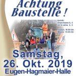 """Waldangelloch: """"Achtung Baustelle"""" Theater in der Eugen-Hagmaier-Halle"""