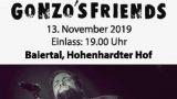 Drittes Konzert von Gonzo's Friends beim Golfclub Hohenhardter Hof