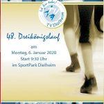 Dielheim: Traditioneller, schon 48. Dreikönigslauf am 6. Januar 2020