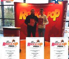 Coulord Rain 3-fach beim 37. Deutschen Rock & Pop Preis ausgezeichnet