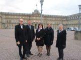 Vorsitzende der Sinsheimer Städtepartnerschaften zu Gast in Stuttgart