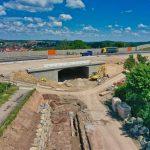 BAB 6 Unterführung Dielheim-Rauenberg – Die Brückenarbeiten im Zeitplan