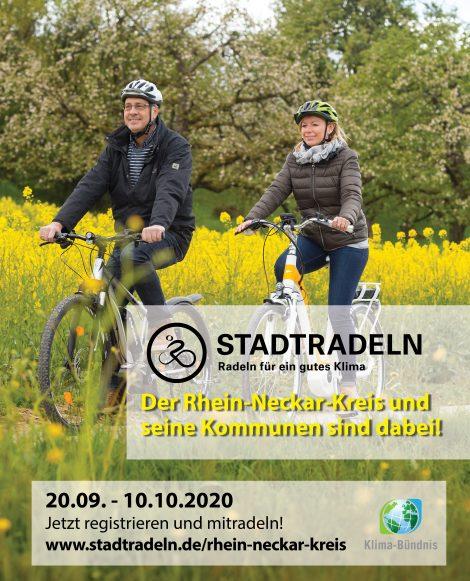 Rhein-Neckar-Kreis gibt Ergebnisse Aktion Stadtradeln 2020 bekannt …