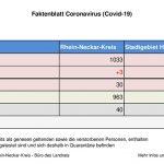 23. Juli 2020 – aktuelles Faktenblatt des Rhein-Neckar-Kreis