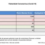 27. Juli 2020 – aktuelles Faktenblatt des Rhein-Neckar-Kreis