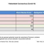 29. Juli 2020 – aktuelles Faktenblatt des Rhein-Neckar-Kreis