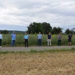 Sinsheim: Artenreiche Blühfläche –Ausgleichsmaßnahme für Neubau der Fa. GEBHARDT