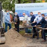 Rauenberg: Glasfaserausbau im Gewerbegebiet Hohenaspen geht an den Start …