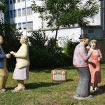 Alltagsmenschen in Sinsheim – Skulpturen regen zum Dialog an …