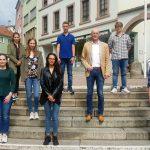Stadt Wiesloch begrüßt neue Auszubildende 2020