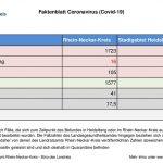 7. Oktober 2020 – aktuelles Faktenblatt des Rhein-Neckar-Kreis