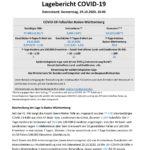 COVID-19 Tagesbericht (29.10.2020) des Landesgesundheitsamts Baden-Württemberg – (ausführlicher)