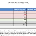 15. November 2020 – das Faktenblatt des Rhein-Neckar-Kreis