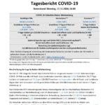 COVID-19 Tagesbericht (17.11.2020) des Landesgesundheitsamts Baden-Württemberg – (ausführlicher)