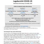 COVID-19 Tagesbericht (19.11.2020) des Landesgesundheitsamts Baden-Württemberg – (ausführlicher)