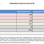 20. November 2020 – das Faktenblatt des Rhein-Neckar-Kreis