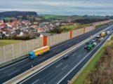 Freie Fahrt auf neuen Fahrstreifen – Autobahn A6: Fristgerecht die Ausbaustrecken fertiggestellt …