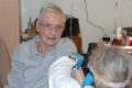 Erste Impfungen im Rhein-Neckarkreis … Ruth Frühauf war die Erste …