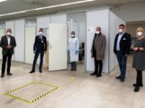 Gemeinsame Kraftanstrengung erfolgreich: Zentrales Impfzentrum auf PHV in Heidelberg ist betriebsbereit