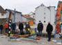 Bildnis für Menschenrechte –Neues Kunstwerk des Künstlers Paul Berno Zwosta am Burgplatz in Sinsheim
