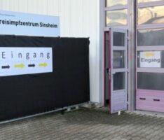 Kreisimpfzentren in Weinheim & Sinsheim haben heute begonnen – nur 80 Impfungen pro Tag …
