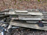 Östringen/Rettigheim/Rhein-Neckar-Kreis – Illegale Entsorgung von asbesthaltigen Eternitplatten