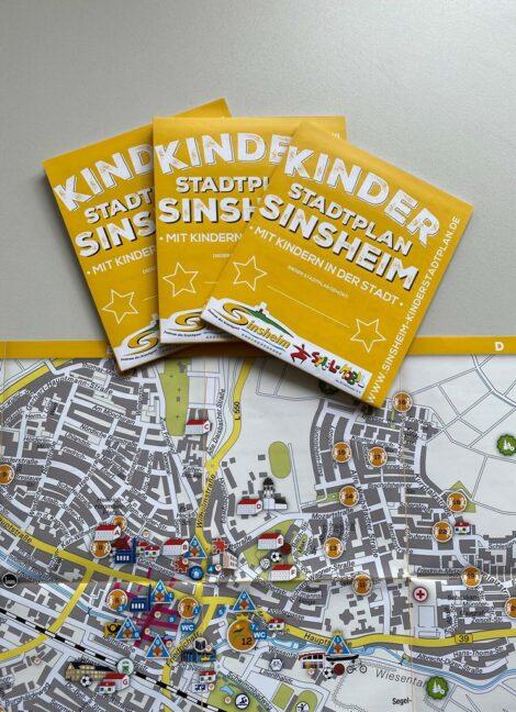 Sinsheim: Das Amt für Bildung, Familie und Soziales informiert : Der neue Kinderstadtplan 2021 ist da!