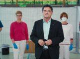 Zweiter Impftermin in der Angelbachtaler  Sonnenberghalle erfolgreich durchgeführt