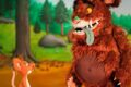 """Die bekannte Kinderfigur""""Der Grüffelo""""kommt als großes Live-Erlebnis nach Wiesloch"""