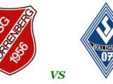 Generalprobe für das Pokalspiel der SG Horrenberg vs Waldhof Mannheim am Samstag gegen VFL Neckarau