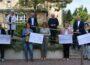 Auch Sinsheim erhält Spendenschecks – Netze BW übergibt Schecks –Eingesparte Portokosten kommen Vereinen zugute